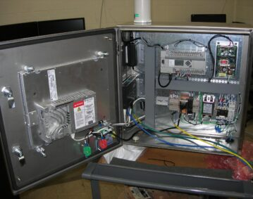 NEMA cabinet inside 51